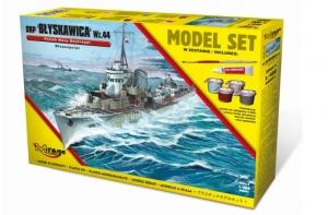 Zestaw modelarski ORP Błyskawica niszczyciel 840091