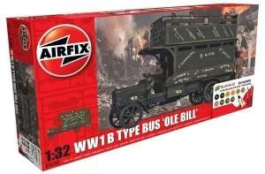 Zestaw modelarski Old Bill Bus (World War I) Gift Set Airfix 50163