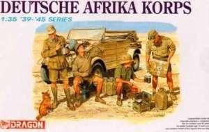 Żołnierze Afrika Korps DAK Dragon 6063
