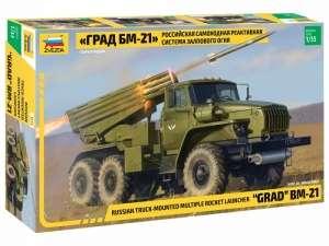 Zvezda 3655 Wyrzutnia rakietowa Grad BM-21
