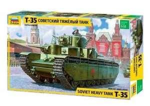 Zvezda 3667 T-35 Soviet Heavy Tank