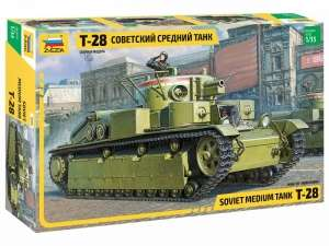 Zvezda 3694 Czołg średni T-28 skala 1-35