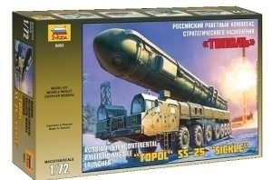 Zvezda 5003 Ballistic Missile Launcher Topol SS-25