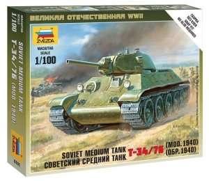 Zvezda 6101 Soviet Medium Tank T-34/76 Mod. 1940