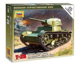 Zvezda 6113 Soviet Light Tank T-26