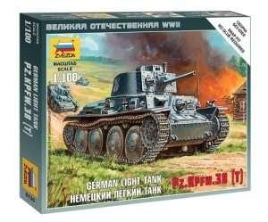 Zvezda 6130 German light tank Pz.Kpfw 38
