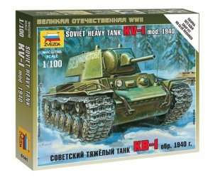 Zvezda 6141 Soviet heavy tank KW-1