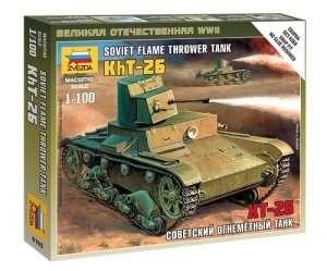 Zvezda 6165 OT-26 Flamethrower Tank