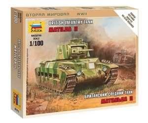 Zvezda 6171 British Tank Matilda II
