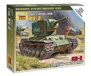 Zvezda 6202 Soviet Tank KV-2
