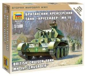 Zvezda 6227 British Tank Mk. IV Crusader
