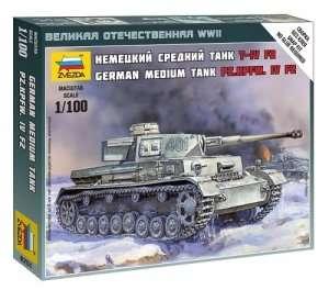 Zvezda 6251 Panzer IV Ausf.F2