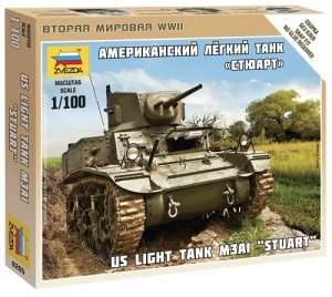 Zvezda 6265 US Tank Stuard