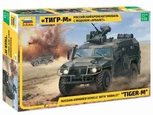Zvezda 6383 Samochód pancerny Tigr-M skala 1-35