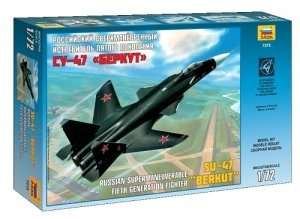 Zvezda 7215 Su-47 'Berkut' Russian Fifth generation fighter