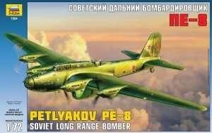 Zvezda 7264 Petlyakov Pe-8 Soviet Bomber