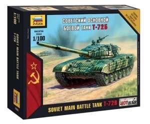 Zvezda 7400 T-72B Soviet Main Battle Tank