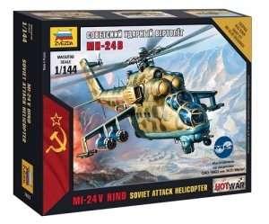 Zvezda 7403 Soviet Attack Helicopter Mi-24