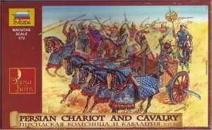 Zvezda 8008 Persian chariot and cavalry IV BC