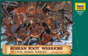 Zvezda 8062 RUSSIAN FOOT WARRIORS 13TH- 14TH CENTURY
