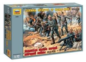 Zvezda 8083 German Infantry of I World War