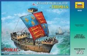 Zvezda 9038 English Medieval Ship Thomas