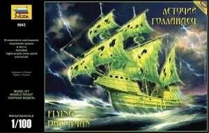 Zvezda 9042 Flying Dutchman Pirate Ghost Ship