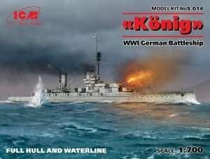 ICM S.014 Niemiecki pancernik Konig