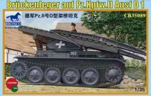 Model Bruckenleger Auf Pz.Kpfw.II Ausf.D1 Bronco 35089