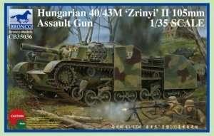 Działo samobieżne 40/43 M 'Zrinyi' II 105mm Bronco CB35036