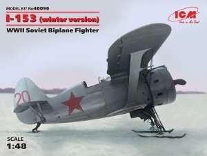 Model ICM 48096 dwupłatowy myśliwiec I-153