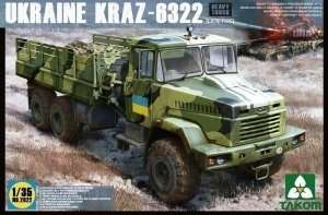 Model Takom 2022 Ukraine Kraz - 6322