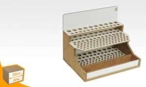Organizer modułowy na pędzle i narzędzia - szer. 20cm - OMs07