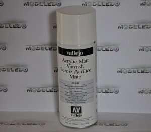 Vallejo 28531 Akrylowy lakier spray matowy 400ml