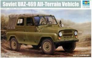 Model Soviet UAZ-469 All Terrain Vehicle Trumpeter 02327