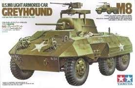 Tamiya 35228 U.S M8 Light Armored Car