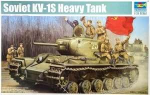Trumpeter 01566 Soviet KV-1S Heavy Tank