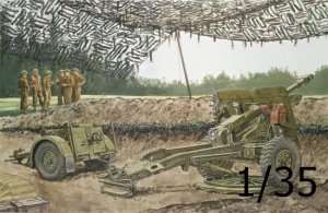 Dragon 6774 British 25-Pdr. Field Gun Mk.II w/Limber