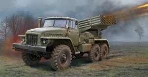 Polowa wyrzutnia rakietowa BM-21 Grad model Trumpeter 01028