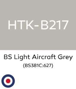 Hataka B217 BS Light Aircraft Grey - farba akrylowa 10ml