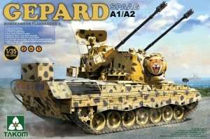 Takom 2044 Flakpanzer Gepard A1/A2 2 in 1