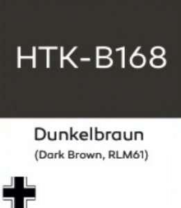 Hataka B168 Dunkelbraun - farba akrylowa 10ml