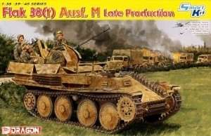 Dragon 6590 FlaK 38(t) Ausf.M (Late Production)