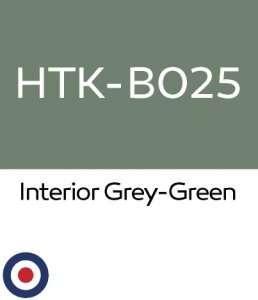 Hataka B025 Interior Grey-Green - farba akrylowa 10ml