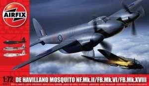 Model samolotu De Havilland Mosquito Airfix 03019