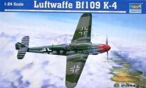 Model Luftwaffe Bf109 K-4 02418 Trumpeter