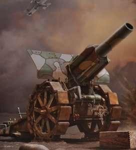 Model Takom 2032 Krupp 21cm Moerser 10/16