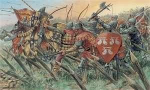 Italeri 6027 Angielscy rycerze i łucznicy