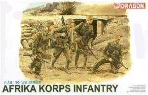 Model Dragon 6138 Afrika Korps Infantry