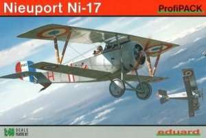 Fighter WWI Nieuport Ni-17 model Eduard 8051
